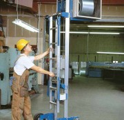 Genie Lift with Ladder Option
